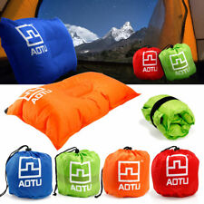 Portable Outdoor Self-Inflating Pillow Travel Camping Hiking Air Cushion Neck
