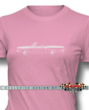 1970 Plymouth Road Runner Convertible T-Shirt for Women - Multiple Colors Sizes