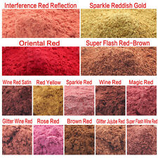 10g Red Color Type Cosmetic Natural Mica for Soap/Bath Bombs/Eyeshadow/Lipsticks