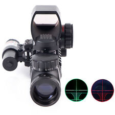 2-6X28 Array Hunting Rifle Scope With Holographic 4 Reticle HD Sight & Red Laser