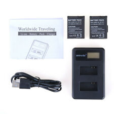 2X1600mAh  Battery+Dual USB Charger for GoPro  AHDBT-301/201 GoPro  Hero 3 3+