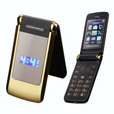 Newmind V518 Flip Double Screen Cellphone Dual SIM MP3 MP4 Mobile Phone For OLD