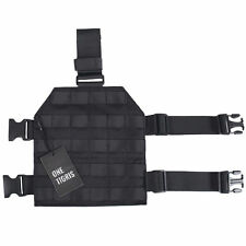 Tactical Molle Drop Leg Platform Outdoor Panel Holster Quick Release Buckle Kit