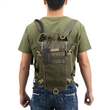 Tactical Hydration Backpack Molle Pack Bladder Carrier Bag 2L Tan Water Pouch