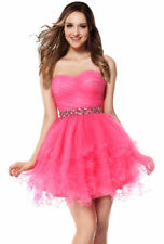 A-line Sweetheart Pleated Wedding Party Pageant Prom Homecoming Sweet 16 Dresses