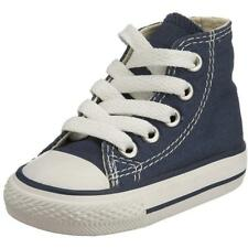 Converse Chuck Taylor All Star Hi Dark Navy Textile Baby Trainers Shoes