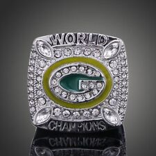 Green Bay Packers team Aaron Rogers NFL League Super Bowl Championship ring
