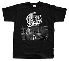 THE ALLMAN BROTHERS Band, Logo ver. 1 T-Shirt (Black) S-5XL