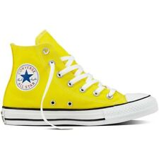 Converse Chuck Taylor All Star Hi Fresh Yellow Textile Trainers Shoes