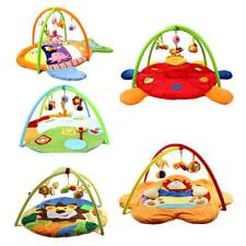 Baby Musical Playmat Activity Gym Play Mat Soft Toys Tummy Time Pad Animals