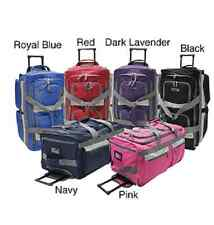 Carry On Luggage Wheeled Travel Duffel Bag 22 Rolling Suitcase Olympia Polyester