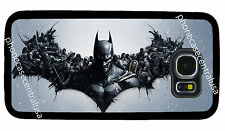 BATMAN BLACK PHONE CASE FOR SAMSUNG NOTE & GALAXY S3 S4 S5 S6 S7 EDGE S8