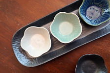 "Soulkitchen Korean Handmade Ceramic ""AUDO"" Mini plate / tealight Candle Holder"