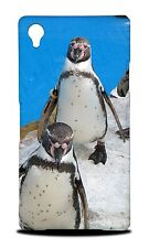 FUN CLASSIC CUTE PENGUIN #1 HARD CASE COVER FOR SONY XPERIA Z1 L39H