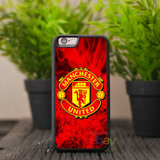 manchester united iPhone Case Samsung Cover iPhone X 8 Plus 7 6 5s Case Football