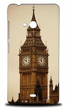 BIG BEN CLOCK TOWER #1 HARD CASE COVER FOR NOKIA LUMIA 540 DUAL SIM