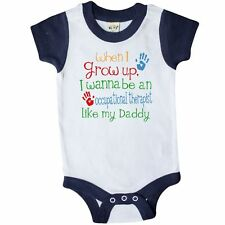 Inktastic Occupational Therapist Like Daddy Infant Creeper Childs Kids Baby Gift