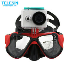 Mask Diving Telesin Scuba Bracket Goggles Swimming Gopro Snorkelling Underwater