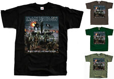 IRON MAIDEN A Matter of Life and Death ver. 2 T-Shirt (Black, brown) S-5XL