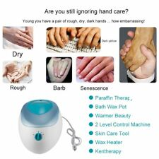 Wax Heater Salon Spa Warmer Machine Paraffin Therapy Bath Pro Hand Skin Care HEW