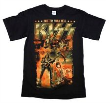 Kiss: Hotter Than Hell T-Shirt   Free Shipping  Official