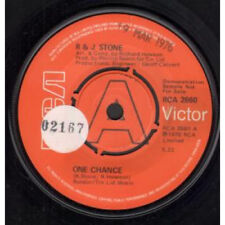 """R AND J STONE One Chance 7"""" VINYL Demo B/w I Just Can't Get It Right (rca2660)"""