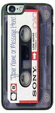 Customized Sony Cassette Tape Phone Case For iPhone iPod Samsung With Yr Text