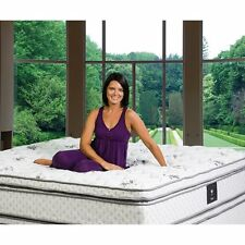 Wolf Legacy Box Top Wrapped Coil with Latex Foam Mattress