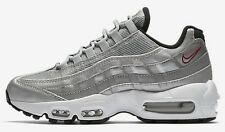 Nike AIR MAX-95 QS WOMEN'S SHOE Metallic Silver/Black/White- US 9, 9.5 Or 10.5