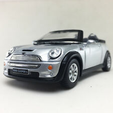 Mini Cooper S Convertible Kinsmart 1:28 DieCast Model Toy Car Hobby Collectible