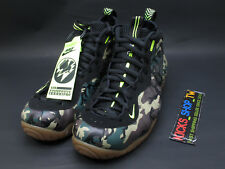 2013 NIKE AIR FOAMPOSITE PRO PRM LE GREEN CAMO PENNY ARMY ONE 587547-300