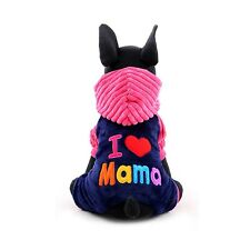 Dog Puppy Small Breed Sweater Hoodie Jumper Clothing Jacket New Fashion