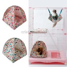 Fish Pattern Portable Folding Cat Kitten Camp Tent Bed Den House Home