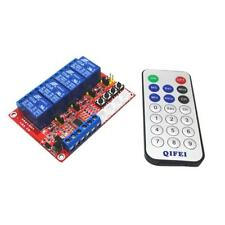 MagiDeal 4 Channel Relay Remote Control Controller Module Switch for Arduino