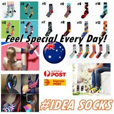 Men Cotton Happy Socks Sox Stance Casual Suit Dress - One size 7-10 Father's Day