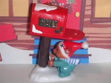Christmas House Christmas Collectable Bear and Mailbox Ornament