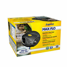 Laguna Maxflo 2200 4000 7600 Filter & Waterfall Pond Pump (Free Chlorine Answer)