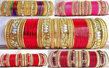 Indian Traditional Bollywood Bridal Chura Wedding Jewelry Fashion Metal Bangles