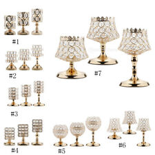 Bling Crystal Votive Tealight Candle Holders Wedding Banquet Centerpieces