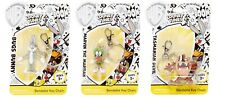 Looney Tunes Bendable Keychains Bugs Bunny, Marvin the Martian, Tasmanian Devil
