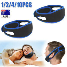 Anti Snore Sleep Apnea Stop Snoring Strap Belt Jaw Solution Chin Support BU