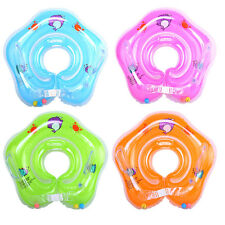 1pcs Kids Baby Inflatable Swimming Pool Beach Swim Neck Float Rings Safety Aid