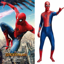 Spiderman Homecoming Costume Spandex Spiderman cosplay halloween costume 2017