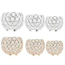 Crystal Bling Votive Tealight Candle Holder Wedding Banquet Centerpiece 3 Sizes
