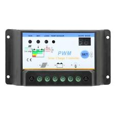 10A-30A 12V 24V PWM Solar Controller Regulator Charge Battery Reverse protection