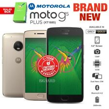 New Factory Unlocked Motorola Moto G5 Plus Gold Grey Dual SIM Android Smartphone