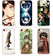 harry potter dream magic Hard Transparent Phone Case Cover Coque for iPhone