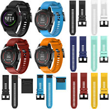 Silicone Quick Install Band Strap for Garmin Fenix 5/Approach S60 Golf GPS Watch
