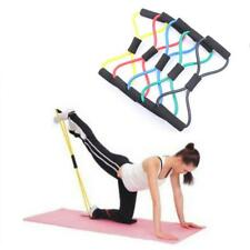 Resistance Training Bands Rope Stretch Workout Exercise Body Fitness Equipment