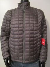 NWT Mens TNF The North Face Thermoball Insulated FZ Puffer Jacket - Fusebox Grey